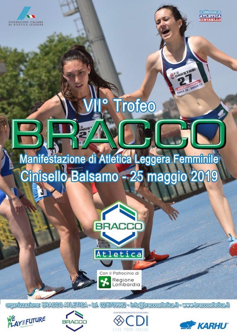 locandina 1 768x1087 - TROFEO BRACCO, 25 MAGGIO 2019