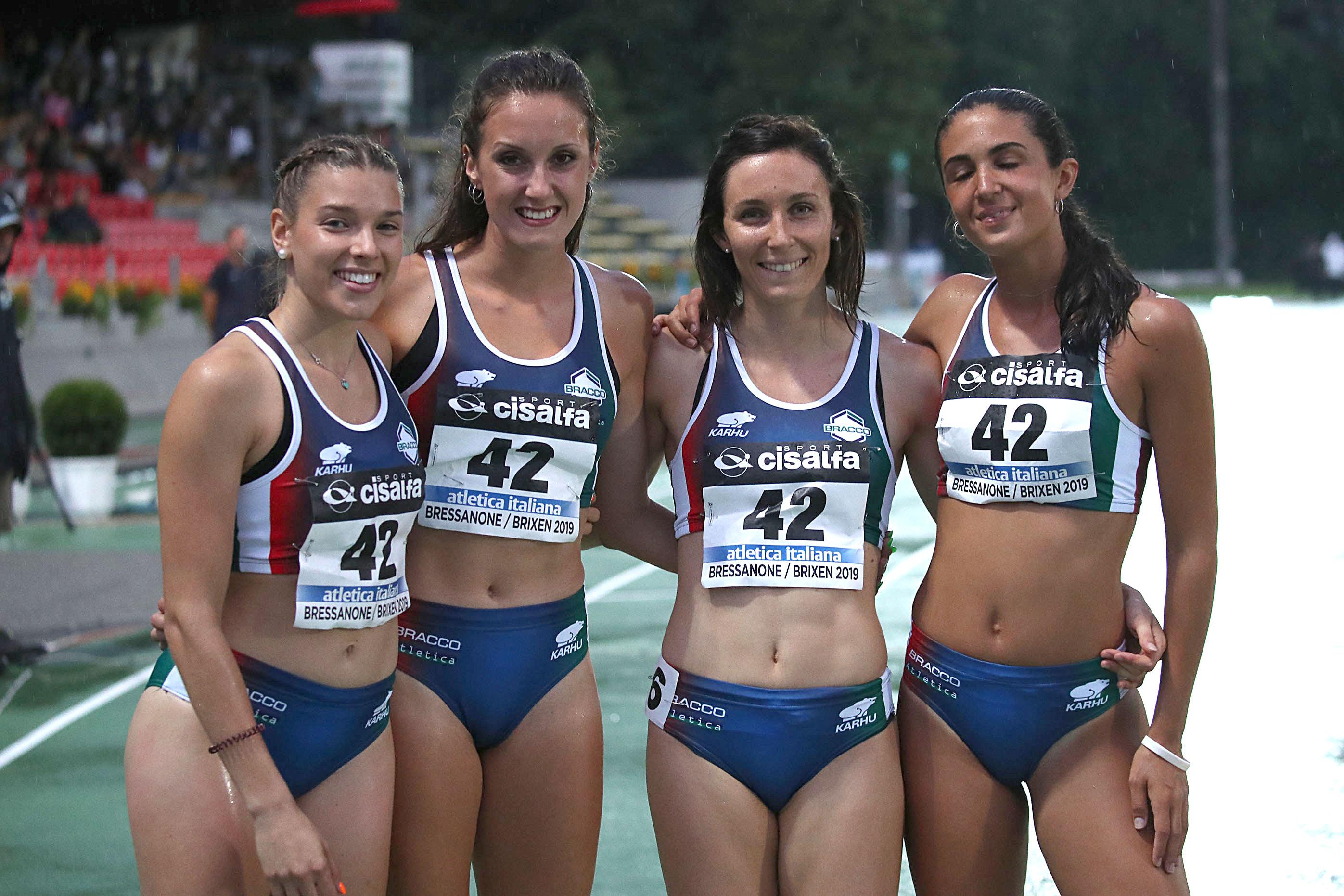 4x100 F Bracco Bressanone 2019 - REBECCA E' TORNATA!