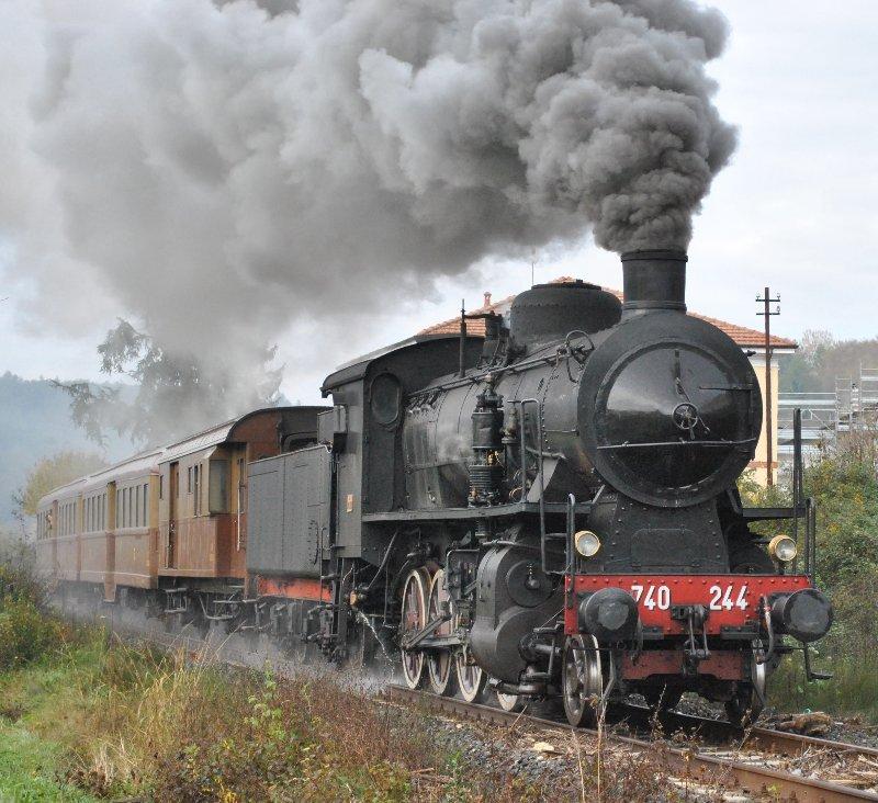 treno a vapore - BRACCO ATLETICA IN FESTA: NUOVI ARRIVI .....