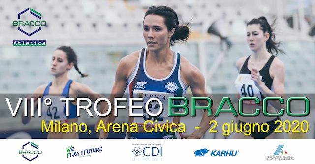 trofeo bracco - VIII° TROFEO BRACCO - Milano, 2 giugno 2020