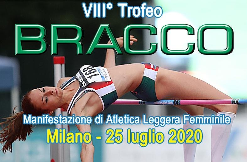COPERTINA edited 1 - VIII° TROFEO BRACCO - MILANO, 25 LUGLIO 2020