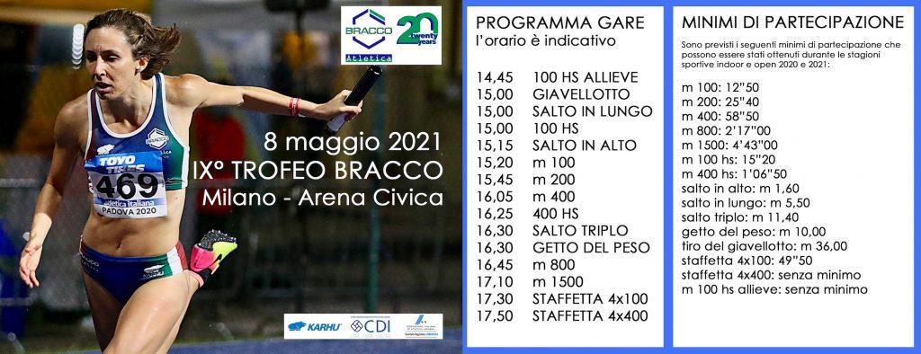 SITO edited 1 1024x394 - IX° TROFEO BRACCO - 8 MAGGIO 2021